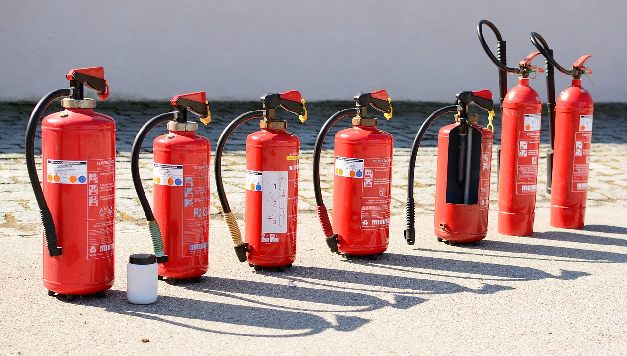 comprar un extintor de incendios