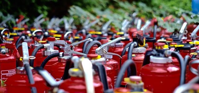 agentes extintores de incendio
