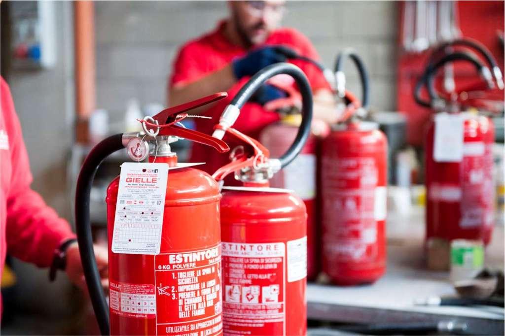 recarga de extintores en Bogotá